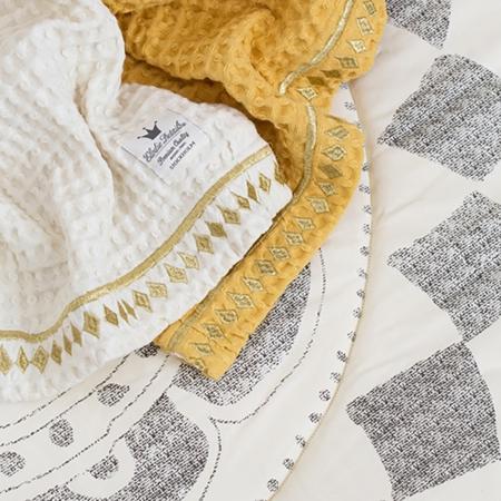 Immagine di Elodie Details® Copertina Waffle blanket Gilded Powder
