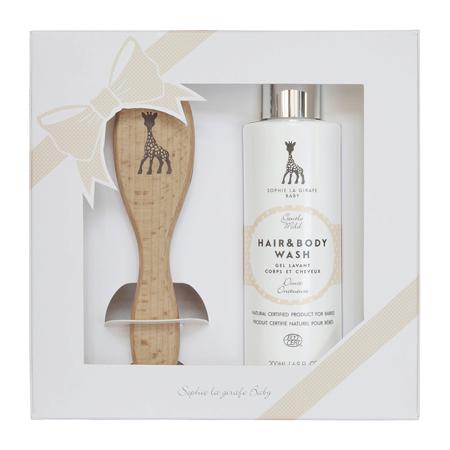 Immagine di Sophie la Girafe® Baby natural hair brush set