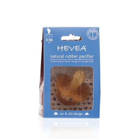 Immagine di Hevea® Ciuccio in caucciu MACCHINE (3-36m)