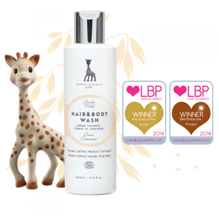 Immagine di Sophie la Girafe® Baby natural hair brush set
