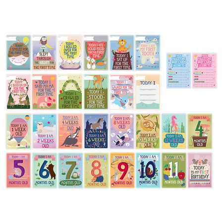 Immagine di Milestone® Baby cards baby (ENG)