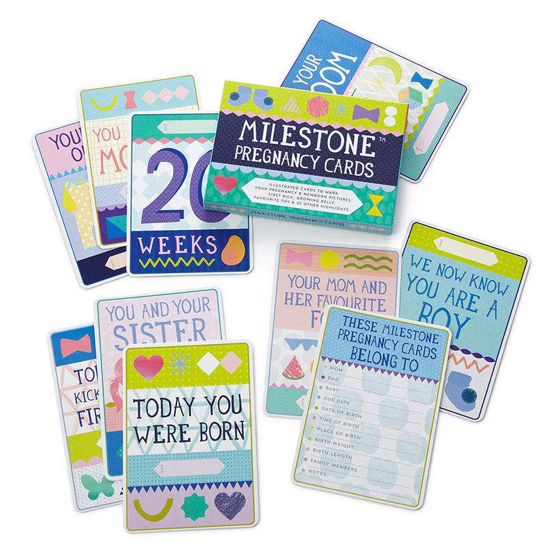 Immagine di Milestone® Baby cards pregnancy