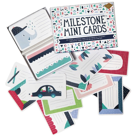 Immagine di Milestone® Baby cards mini