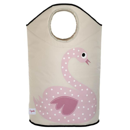 Picture of 3Sprouts Laundry Hamper - Swan