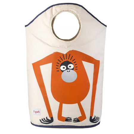 Picture of 3Sprouts Laundry Hamper - Orangutan
