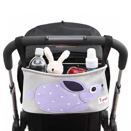 Picture of 3Sprouts Stroller Organizer - Rabbit