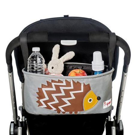 Immagine di 3Sprouts® Cestino porta oggetti per passeggino Riccio