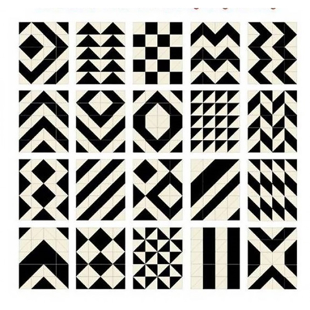 Skip Hop® Tappeto gioco puzzle Black/Cream