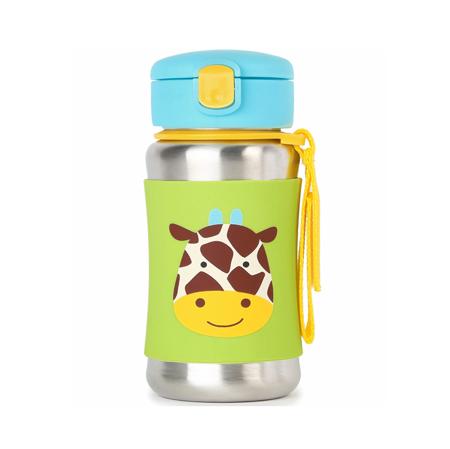 Immagine di Skip Hop® Borraccia termica con cannuccia Giraffa