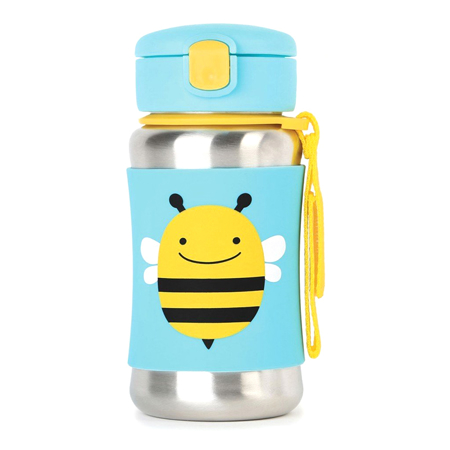 Picture of Skip Hop® Stainless Steel Kids Straw Bottle Bee