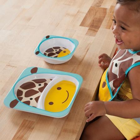 Immagine di Skip Hop® Scodella per bambini Giraffa