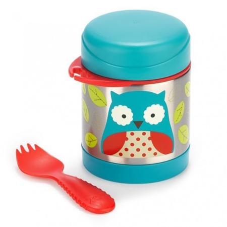Picture of Skip Hop® Insulated Little Kid Food Jar Owl