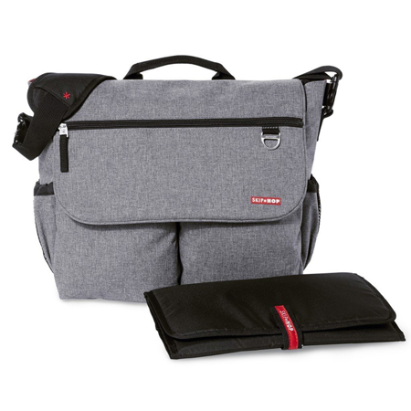 Immagine di Skip Hop® Borsa fasciatoio Dash Signature Heather Grey