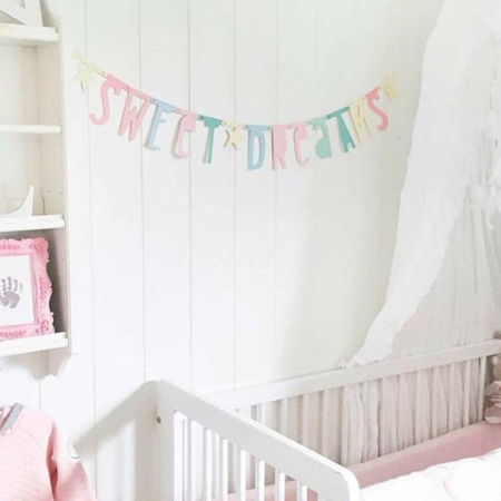 Picture of A Little Lovely Company Letter Banner - Pastel