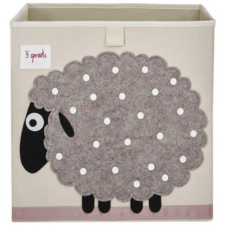3Sprouts® Contenitore giocattoli Pecorella