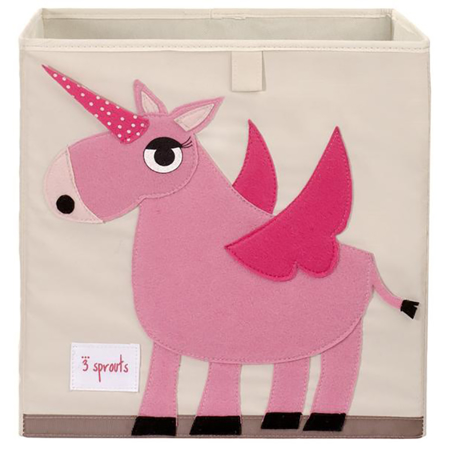 3Sprouts® Contenitore giocattoli Unicorno