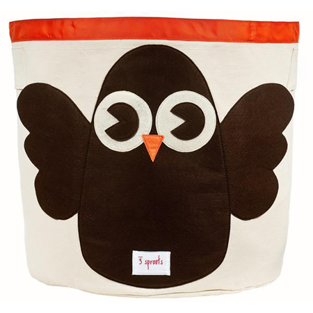 Picture of 3Sprouts Storage Bin - Owl