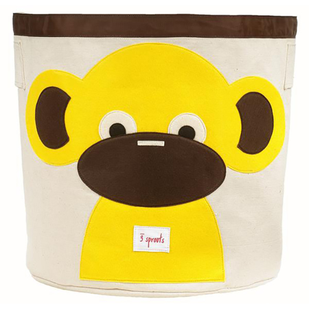 Picture of 3Sprouts Storage Bin - Monkey