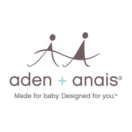 Immagine di Aden+Anais® Set di 3 teli in mussola Metallic Silver Deco 120x120cm