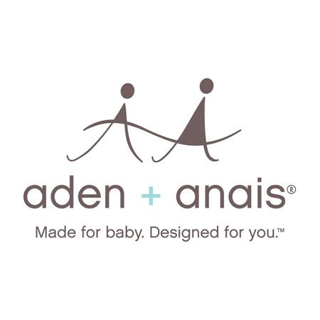 Immagine di Aden+Anais® Set di 3 pteli in mussola Metallic Blue Moon 120x120cm