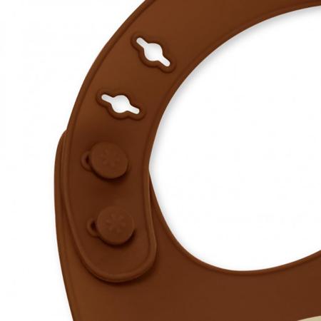 Immagine di Skip Hop® Bavaglino in silicone Scimmietta