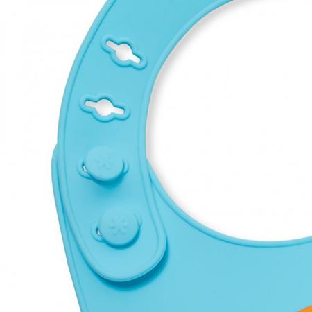 Immagine di Skip Hop® Bavaglino in silicone Cagnolino