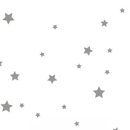 Immagine di Pick Art Design® Adesivo da parete Stelle Grigie