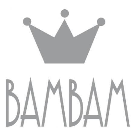 Slika BamBam® Lesena račka na kolesih