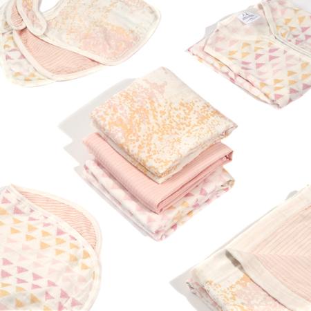 Immagine di Aden+Anais® Il set contiene 3 teli in mussola Metallic Primrose Birch 120x120cm