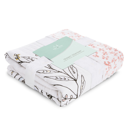 Picture of Aden+Anais Classic Dream Blanket - Birdsong Noble Nest