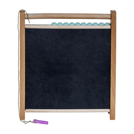 Immagine di Bloomingville® Calcolatrice in legno Abaco con lavagna