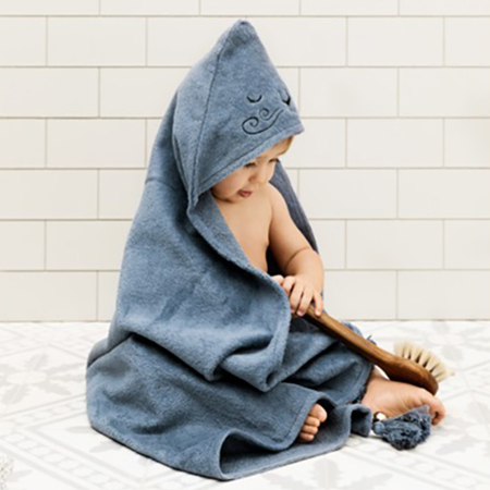 Picture of Elodie Details® Hooded Towel Tender Blue (80x80)