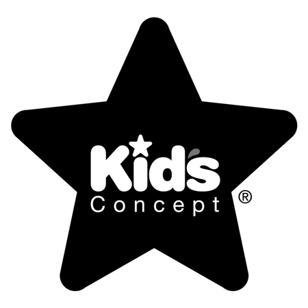Kids Concept® Appendiabiti in legno Star Grey