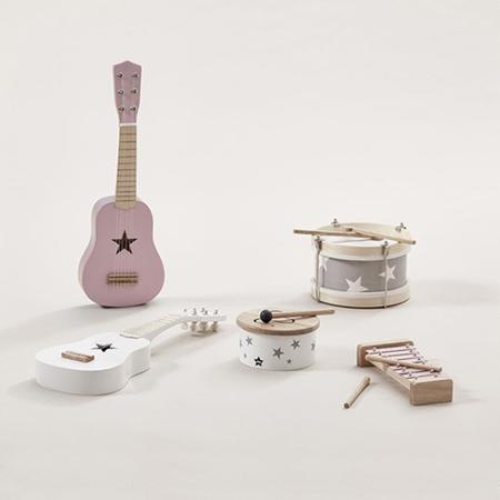 Immagine di Kids Concept® Chitarra in legno Pink
