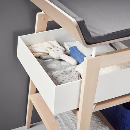 Slika Leander® Predal za previjalno mizo Linea