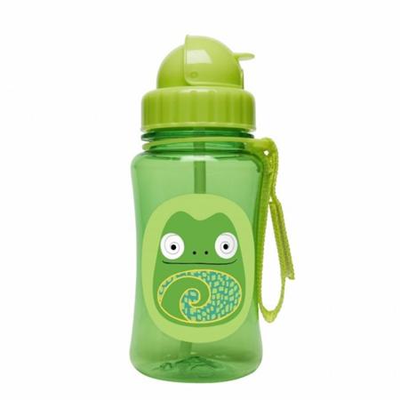 Slika Skip Hop® Steklenička s slamico Kameleon