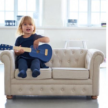Immagine di Kids Concept® Divano per bambini Chesterfield Beige
