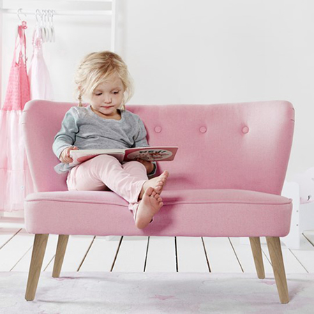 Immagine di Kids Concept® Divano per bambini Pink