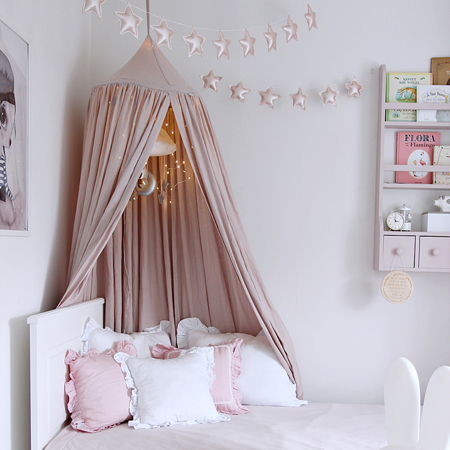 Cotton&Sweets® Baldacchino per bambini Pink