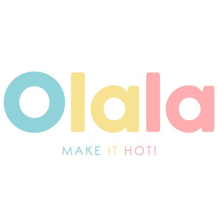 Immagine di Olala® Asciugamano rotondo Hola, Flamigos!