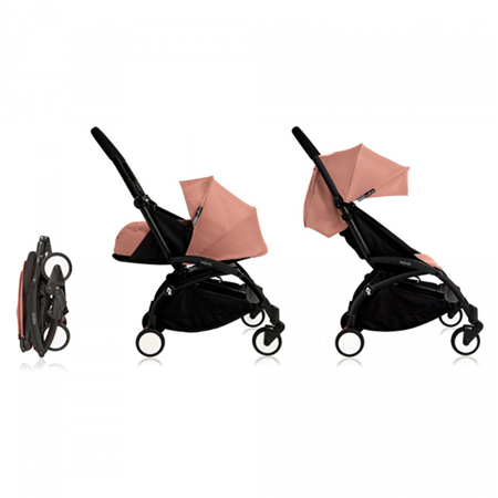Babyzen® YOYO+ Passeggino per bambini 0+ Ginger Black Frame