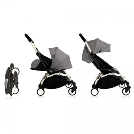Immagine di Babyzen® YOYO+ Passeggino per bambini 6+ Grey White Frame