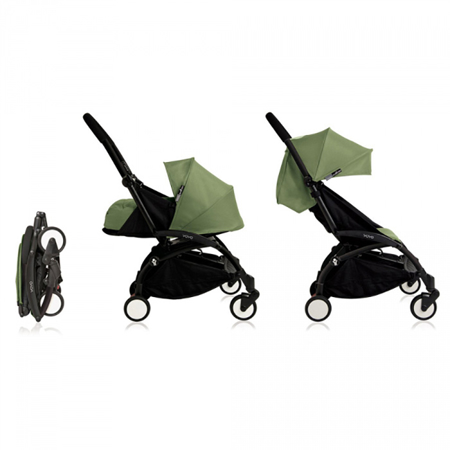 Picture of Babyzen® YOYO+ Baby Stroller 6+ Peppermint Black Frame