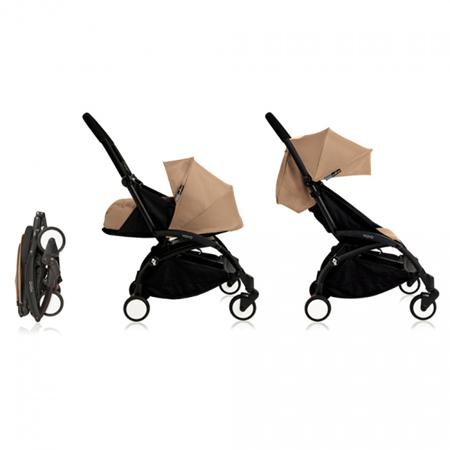 Immagine di Babyzen® YOYO+ Passeggino per bambini 6+ Taupe Black Frame