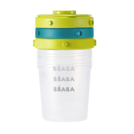 Immagine di Beaba® Set di 6 contenitori per alimenti 6 x 200ml