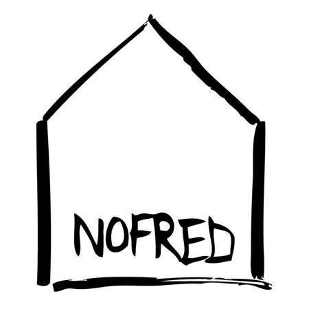 NoFred® Sedia alta Mouse White 4-8 anni
