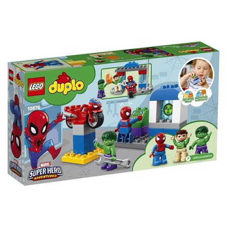Immagine di Lego® Duplo Le Avventure di Spider-Man e Hulk