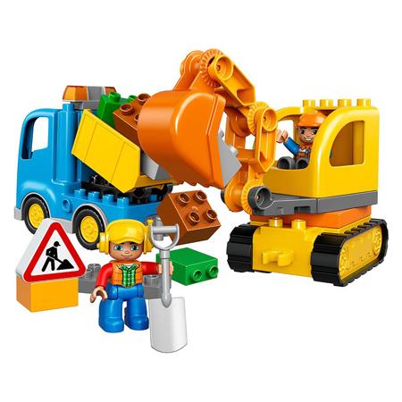Lego® Duplo Camion e scavatrice cingolata