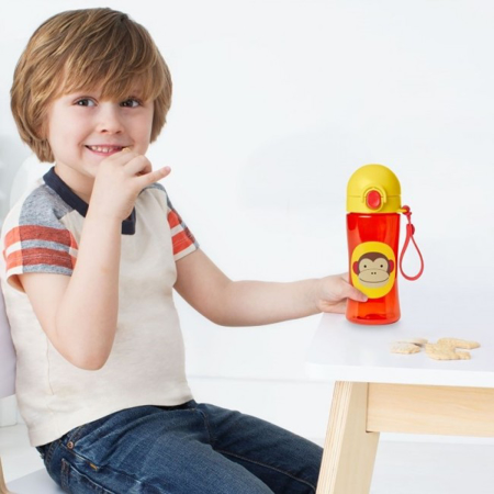 Immagine di Skip Hop® Borraccia sportiva per bambini Scimia