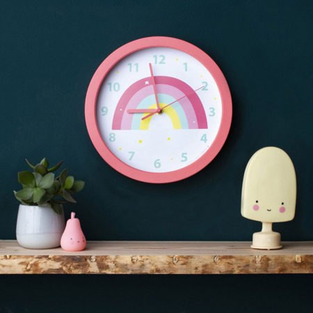 Picture of A Little Lovely Company Clock - Rainbow